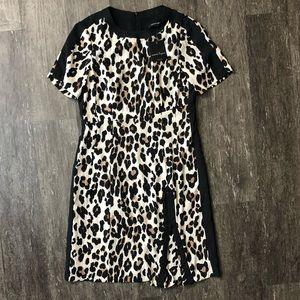 NWT Nanette Lepore wildlife sheath dress